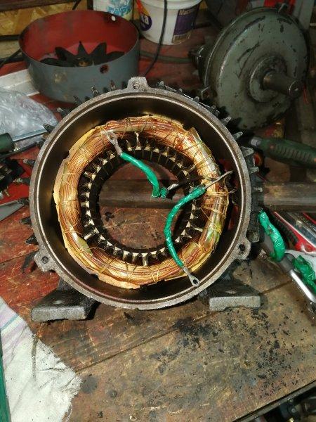 Обмотки двигателя