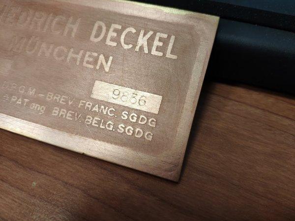 Friedrich Deckel FP1 (№9836)
