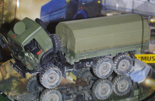 """КАМАЗ-5350 """"Мустанг""""  1:35   из  Лобни"""