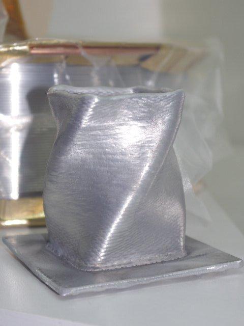 Наплавка, она же 3D печать. Алюминий