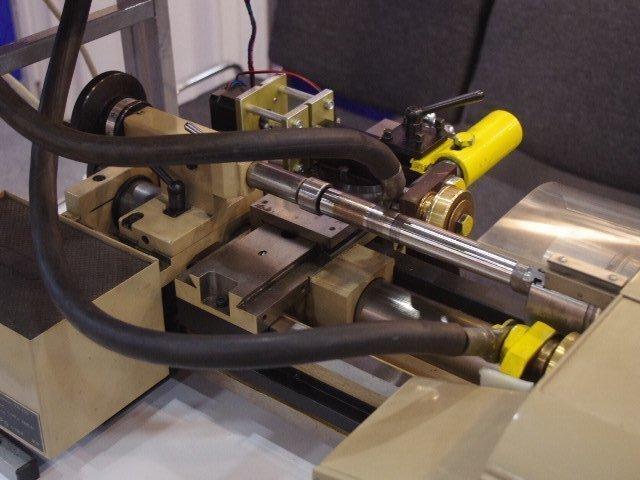 Учебная установка поверхностной закалки. Электромеханическая обработка.