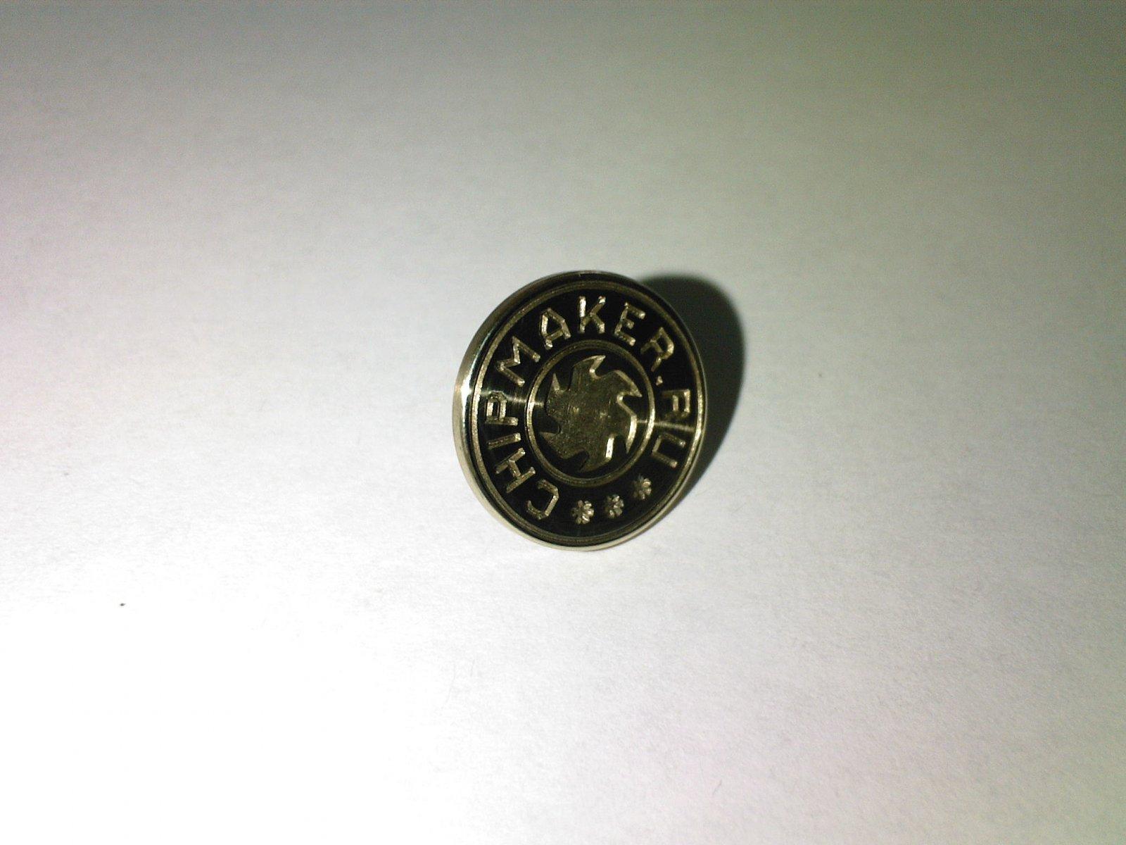 Чипмейкерская пуговица