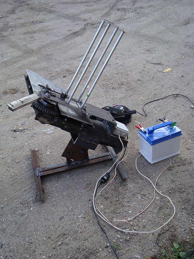 Машинка для стендовой стрельбы своими руками чертежи фото 690