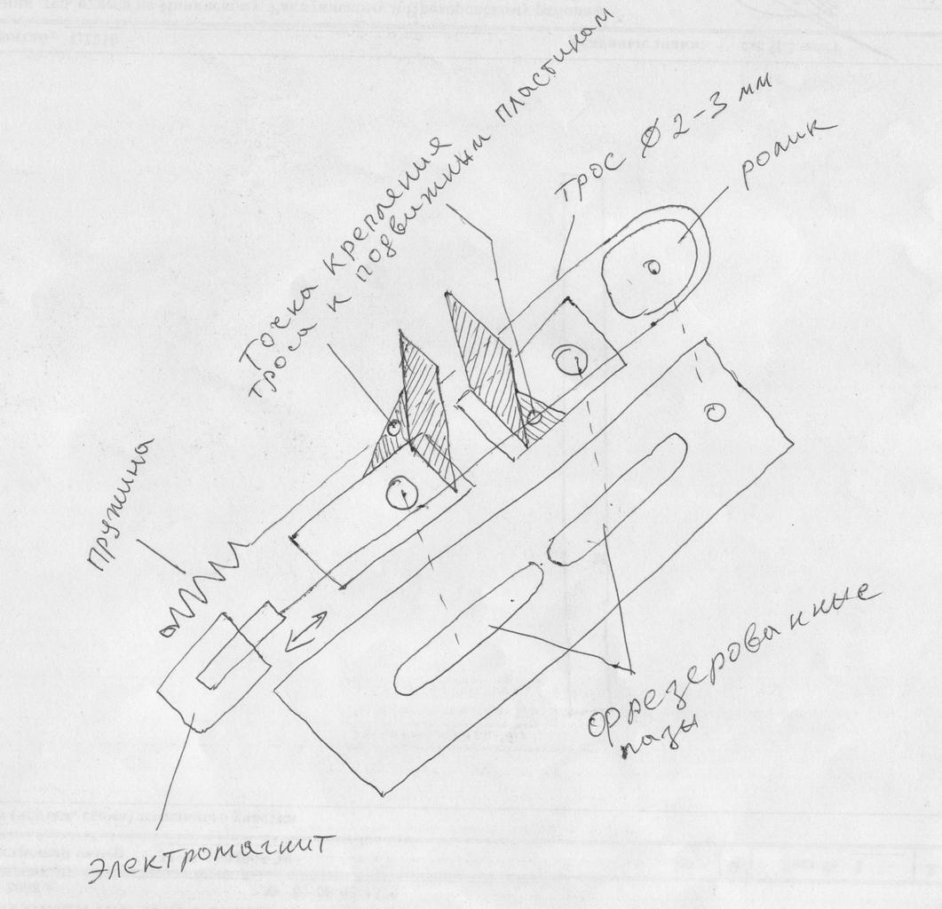 изготовления сетки рабицы схема