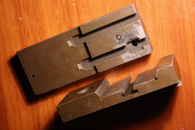 Как сделать пазы в металле 140