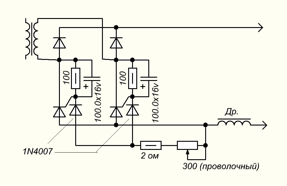 Регуляторы сварочного тока схема фото 32