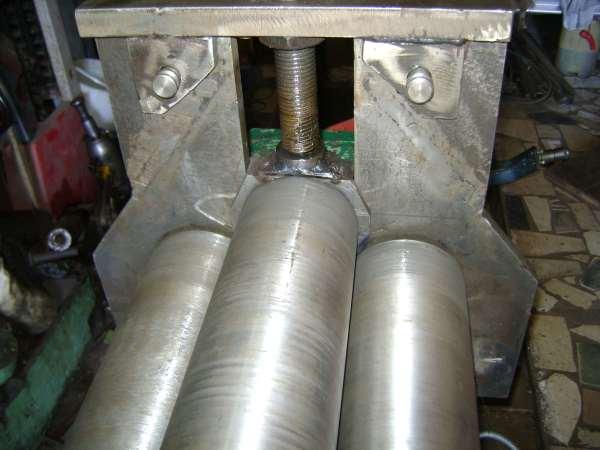 Вальцовка листового металла и изготовление вальцов своими руками