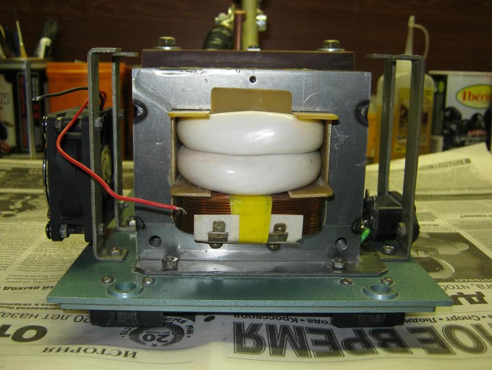 Трансформатор для микроволновки своими руками 22