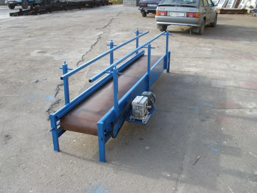 Как сделать ленточный транспортер своими руками охрана труда на ленточных конвейерах