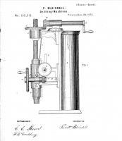 Противовес пиноли, общий вид, патент 135,313, P.Blaisdell - Worcester, MA, Jan. 28, 1873.jpg
