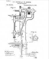 pat 542694  16.07.1895, sensitive drill, upright vario, D.C. Stover, F.W. Hoefer.jpg