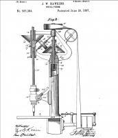 pat 585384  29.06.1897, sensitive drill, taper vario, J.W. Hawkins.jpg