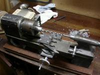 Шкивы из фанеры и прочие способы ремонта станков на коленке: Станок.JPG