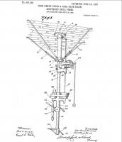 pat 857020  18.06.1907, Подвесной сверл. станок, J.Henry Birch, J Hays Birch.jpg