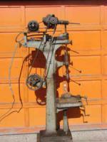 Cincinnati drill press, 1910 Avey with a Mopar three-speed tranny.jpg