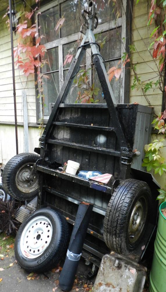 Подвеска для легкового прицепа 125