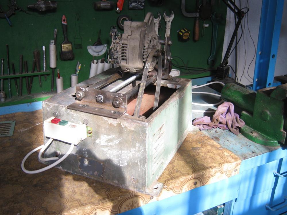 Самодельный стенд генератор проверки 173