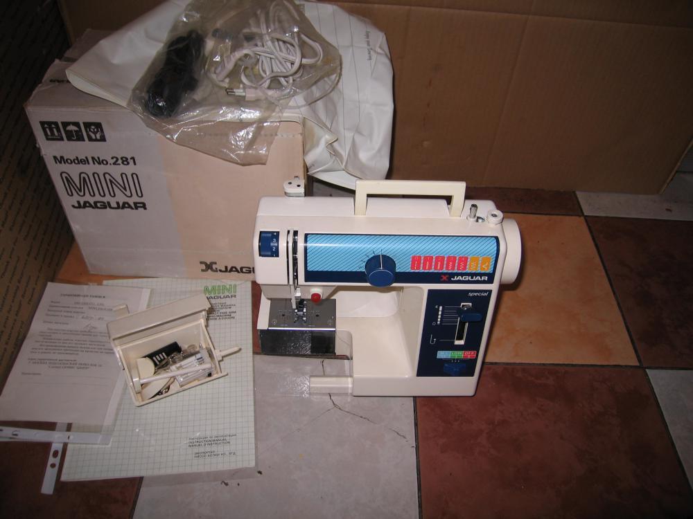 Ягуар 281 швейная машинка инструкция