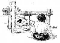 Устройство для выполнения отверстий в каменных орудиях. Реконструкция музея в Веймаре._Big.jpg