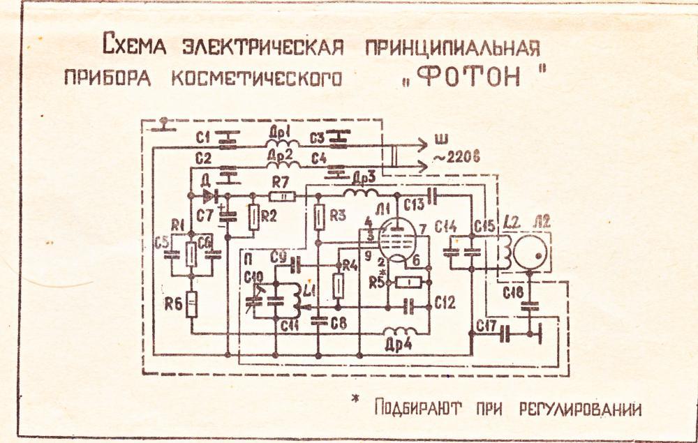 прибор косметический фотон мэлз инструкция
