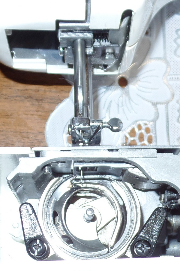 оформили разборка швейного челнока веритас фото следует расставить так