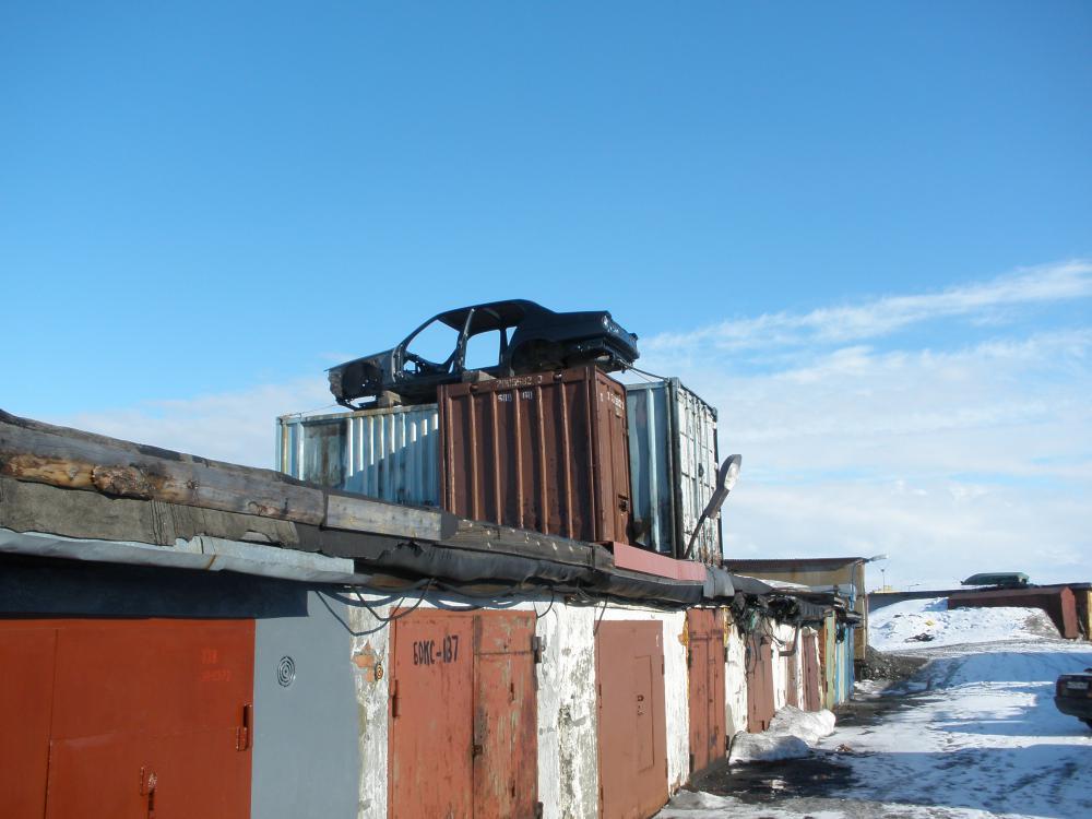 Железный гараж или контейнер мебель для гаража купить в москве