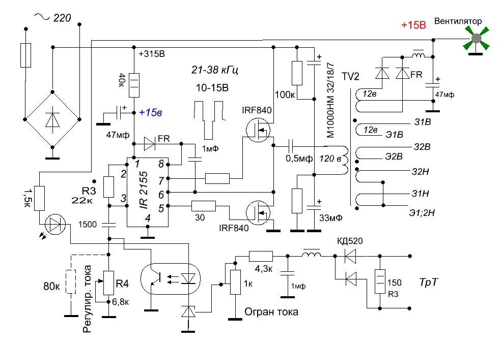 Vip-cxema. org - Простейший индукционный нагреватель 24
