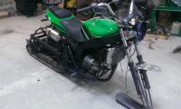 Снегомотоцикл и обычный мотоцикл. И ещё кое что: IMAG0103.jpg