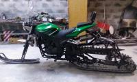 Снегомотоцикл и обычный мотоцикл. И ещё кое что: IMAG0113.jpg