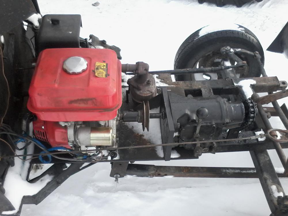 самодельный минитрактор с двигателем от оки термобелье
