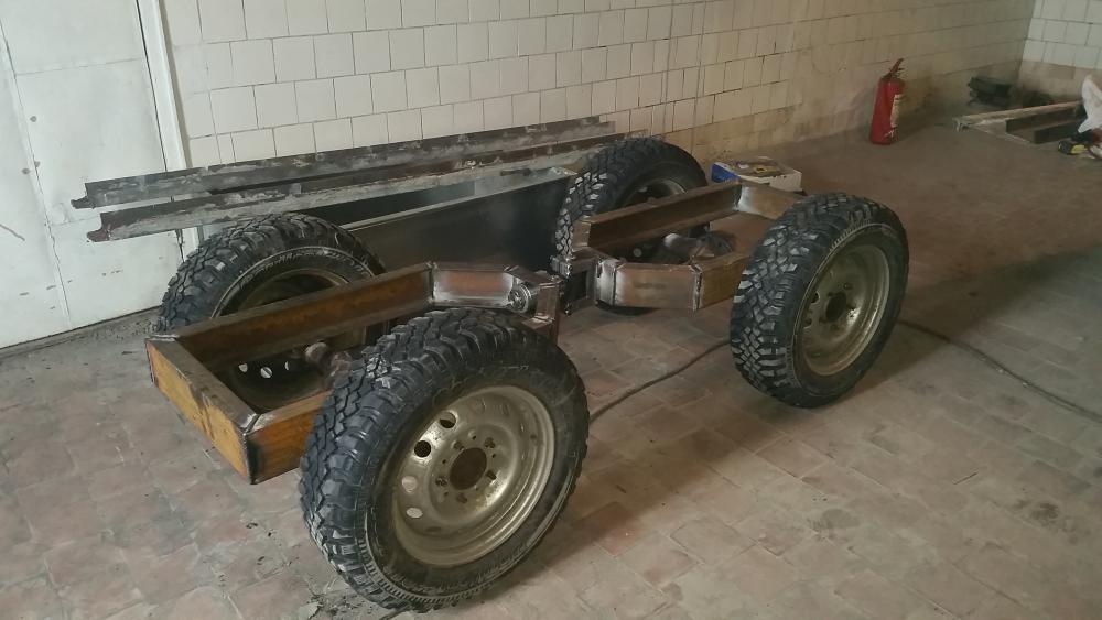 Трактор 4х4 своими руками 71