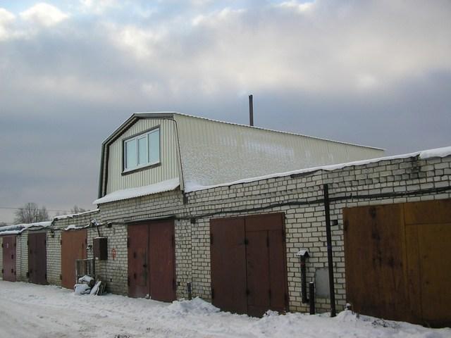 Построить второй этаж на гараже