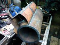 Опыт постройки железной без-колосниковой отопительной печи.: 11.jpg
