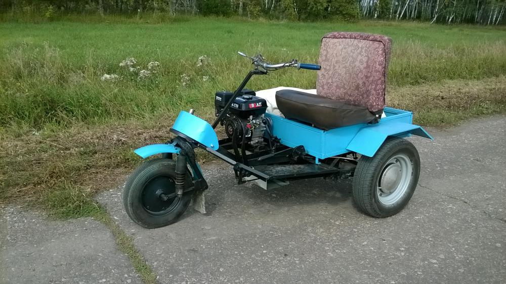 как с муравей мотоцикл сделать минитрактор фото необходимо